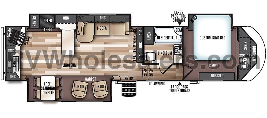 346RK Floorplan