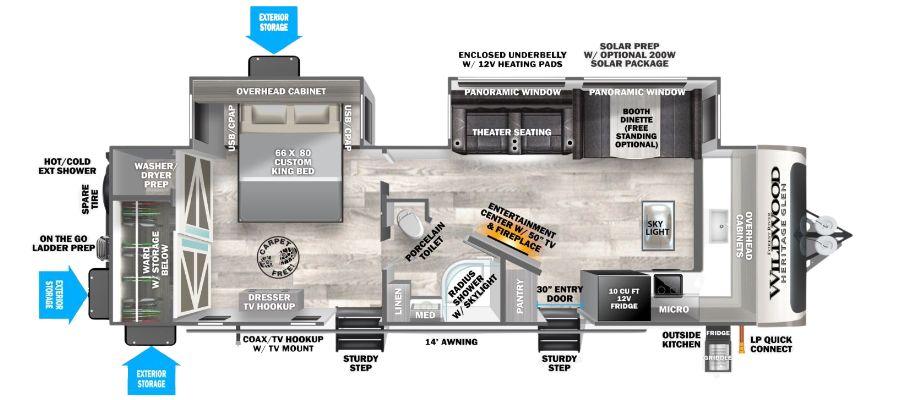 270FKS Floorplan