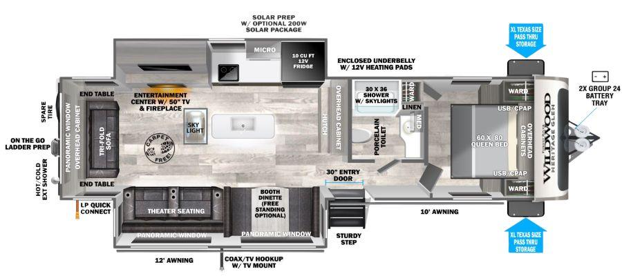 271RL Floorplan