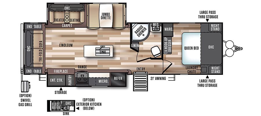 272RL Floorplan