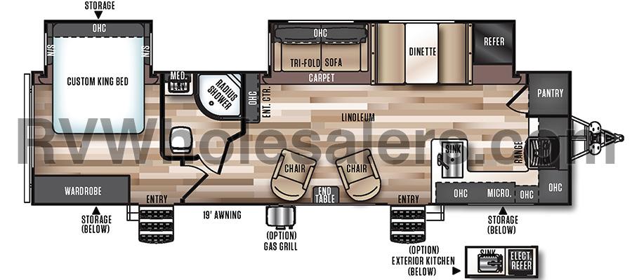 302FK Floorplan