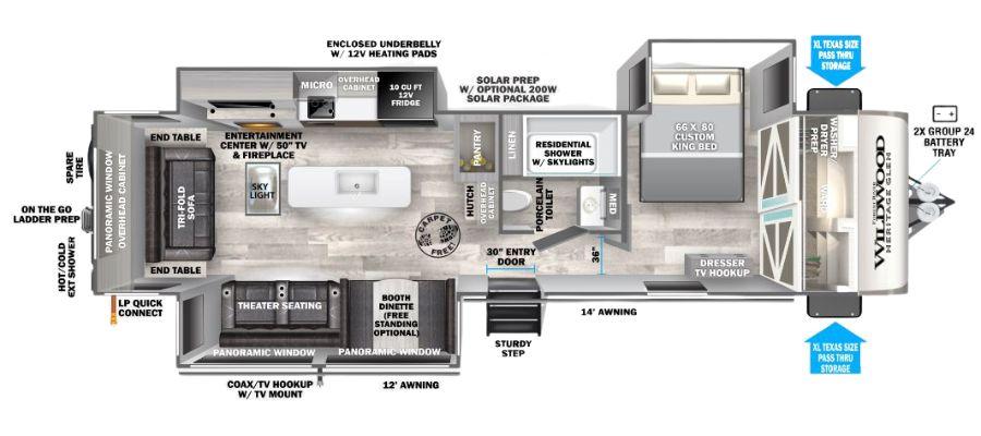 308RL Floorplan