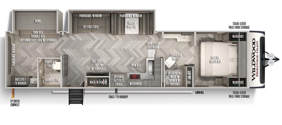 322BH Floorplan
