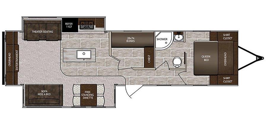 3370MB Floorplan
