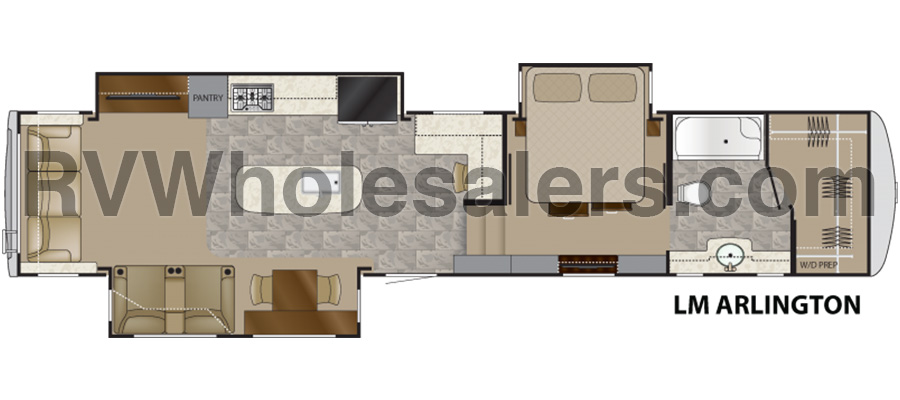 Arlington Floorplan