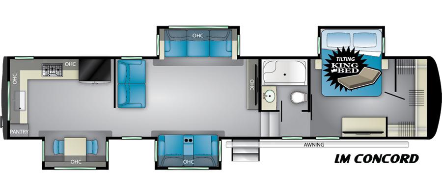 Concord Floorplan