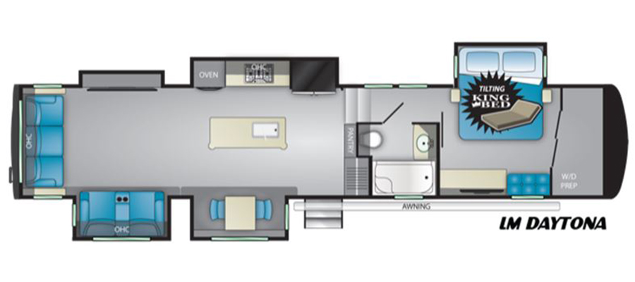 Daytona Floorplan