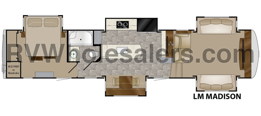 Madison Floorplan