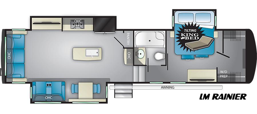 Rainier Floorplan
