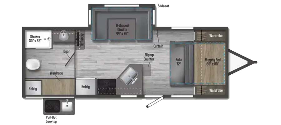 Minnie 2201MB floorplan image