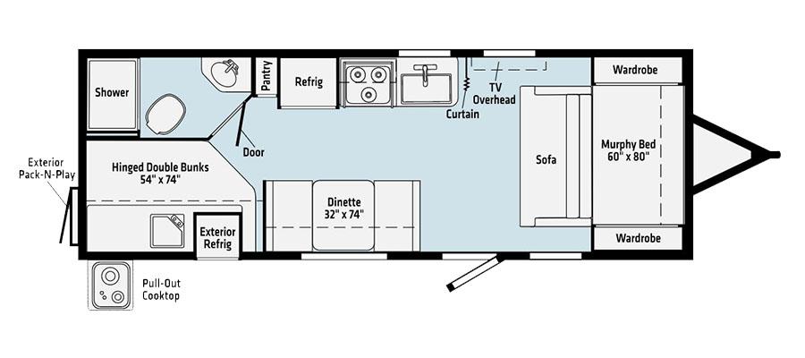 2225MBBH Floorplan