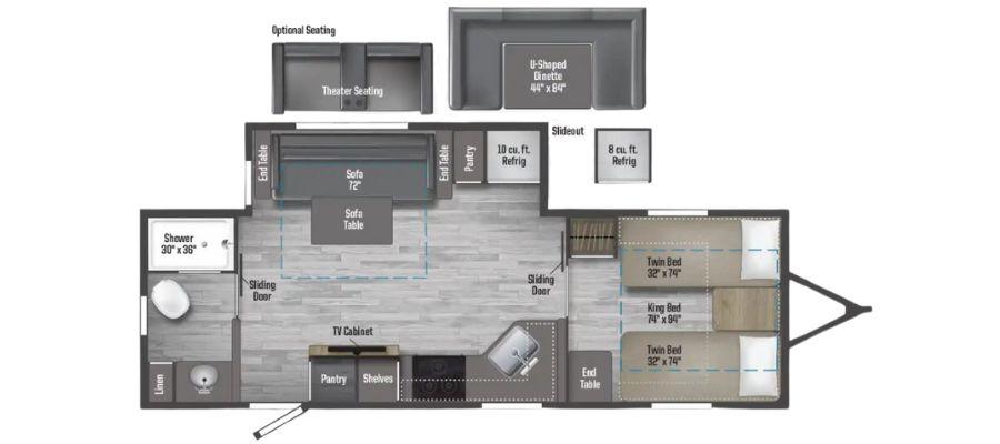2327TB Floorplan