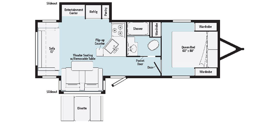 2630RL Floorplan