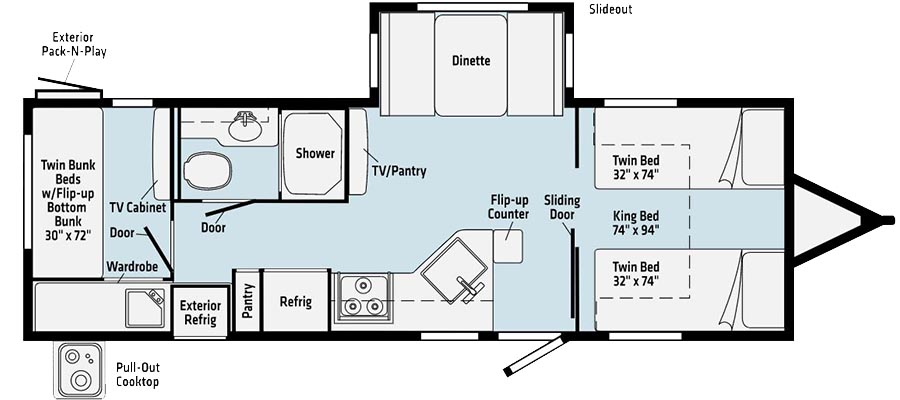 2630TBBR Floorplan