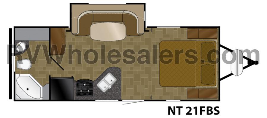 2010 North Trail 21FBS - stock no. 211824 - image  - thumbnail
