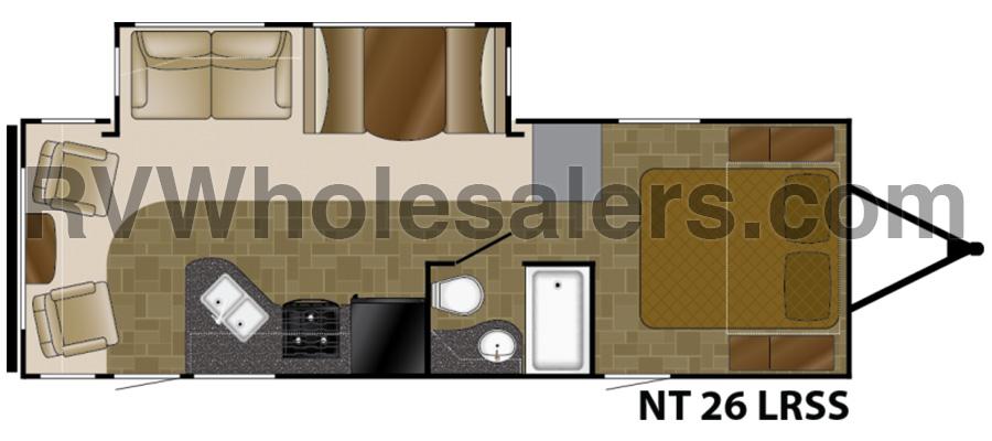 2018 North Trail 26LRSS - stock no. 366009 - image  - thumbnail