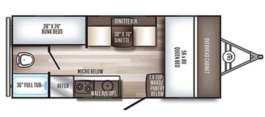177BH Floorplan