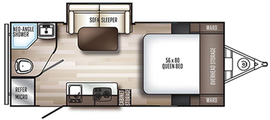 181FBS Floorplan