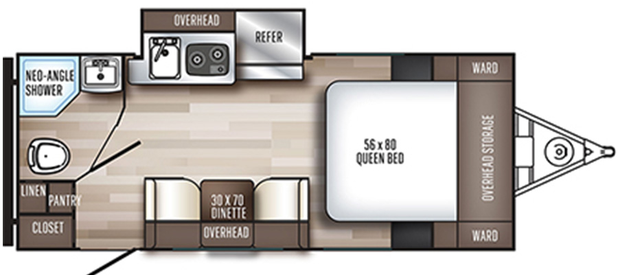 182SK Floorplan