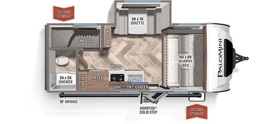 189BHS Floorplan