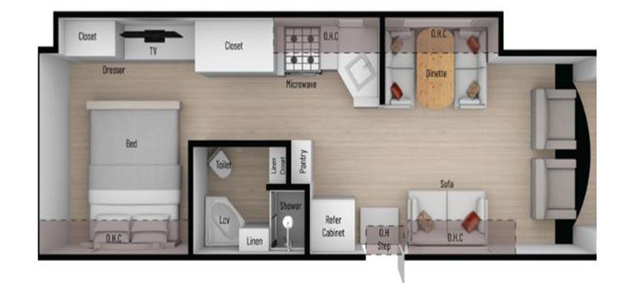 30P Floorplan
