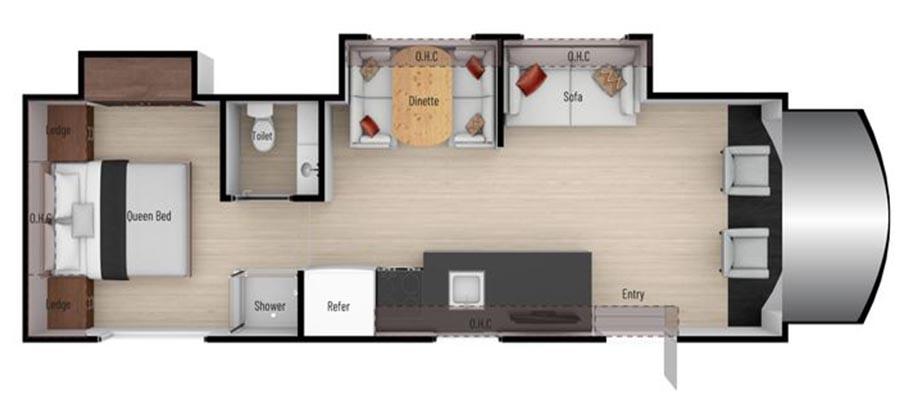 31P Floorplan