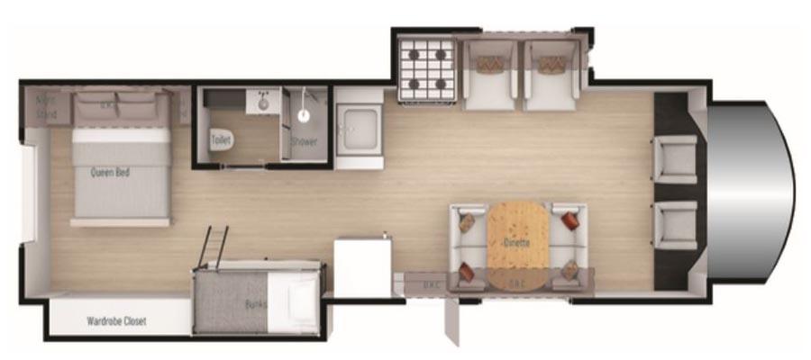 32P Floorplan
