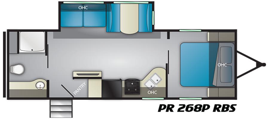 2019 Prowler 268PRBS - stock no. X000886 - image  - thumbnail