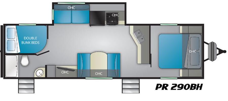 290BH Floorplan