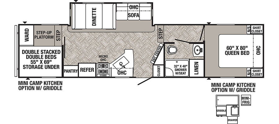 289BHS Floorplan
