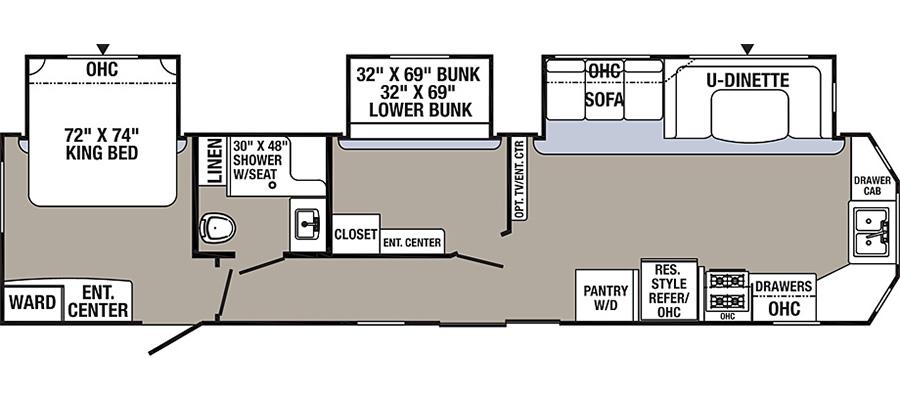 39BHT Floorplan