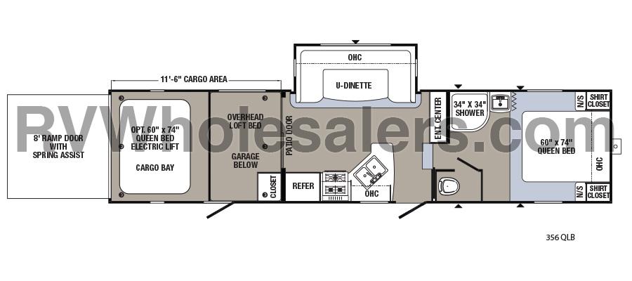 356QLB Floorplan