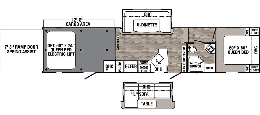 373QSI Floorplan