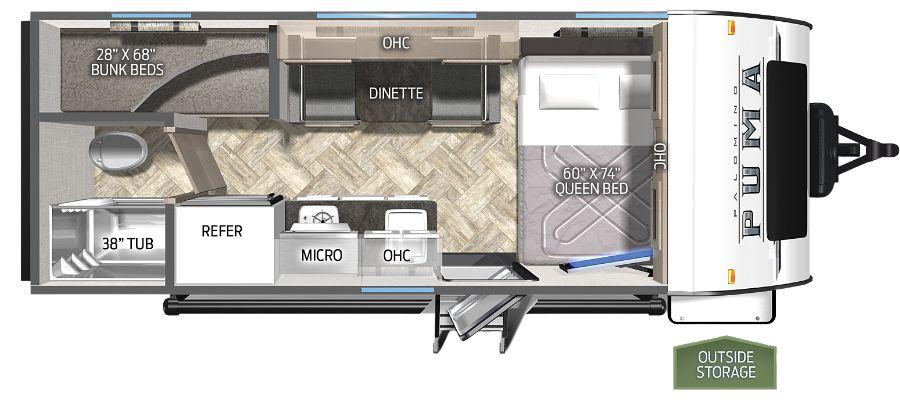 16BHX Floorplan