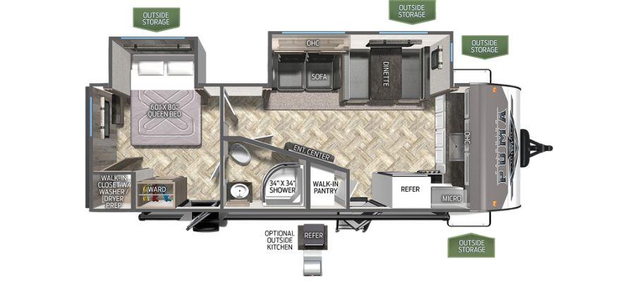 26FKDS Floorplan