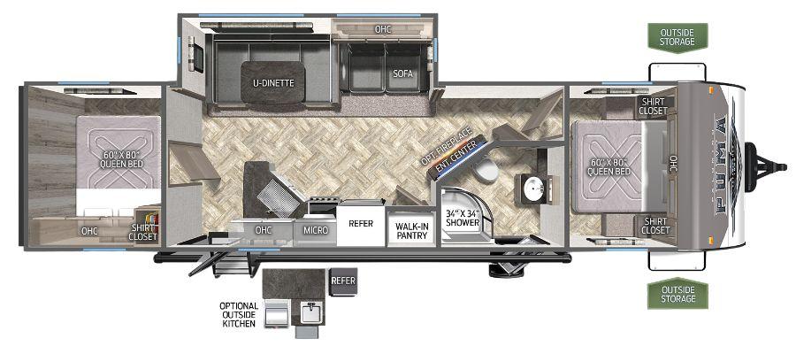28BHSS2 Floorplan
