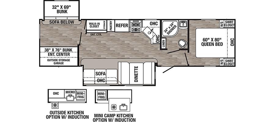 31BHQB Floorplan