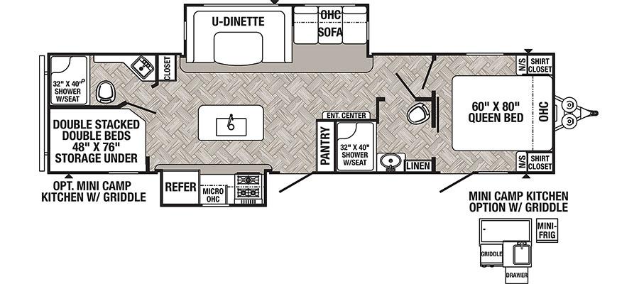 Puma 32BHIS floorplan image
