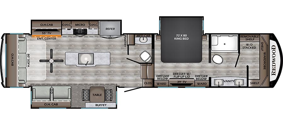 3901MB Floorplan