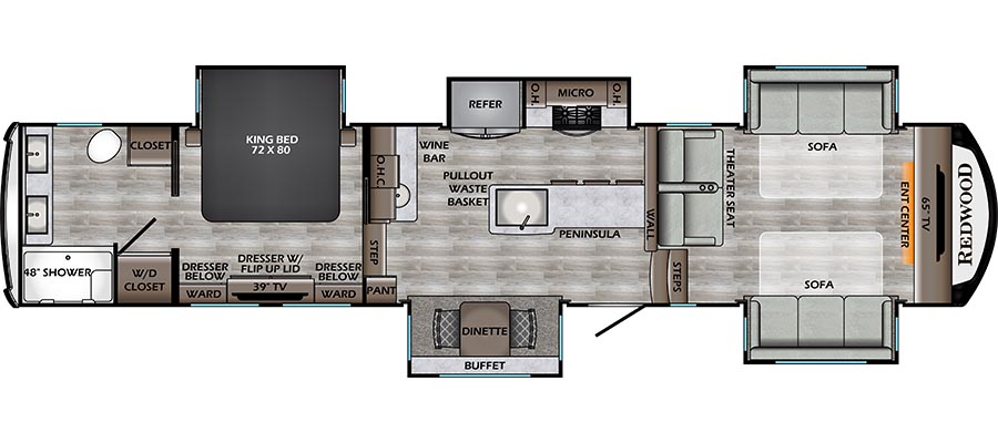 395WB Floorplan