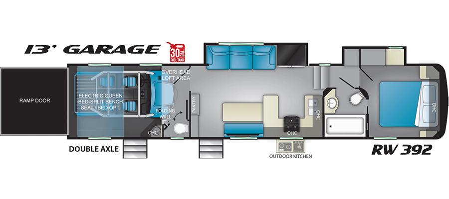 392RW Floorplan