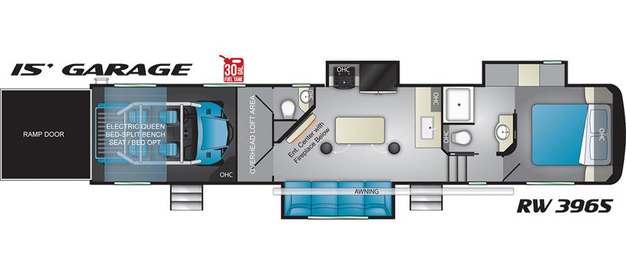 3965RW Floorplan