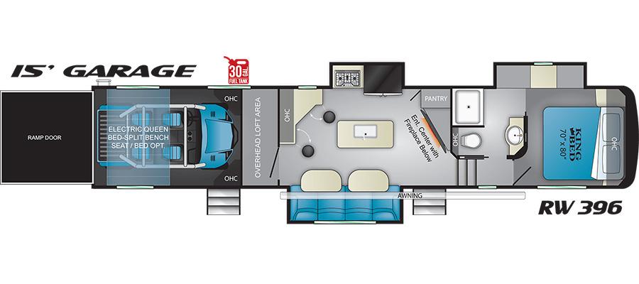 396RW Floorplan