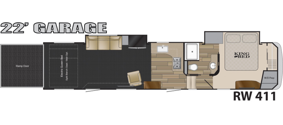 411 Floorplan