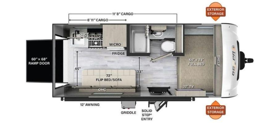 G19FBTH Floorplan