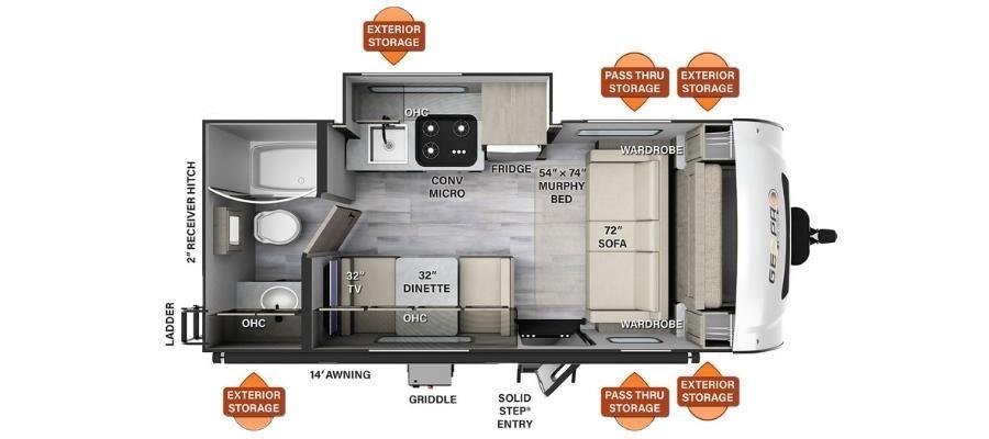 G19FDS Floorplan