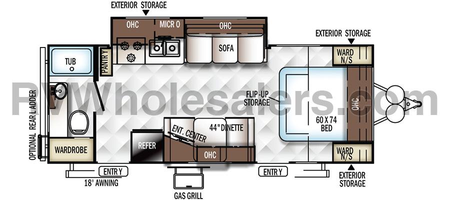 2502KS Floorplan