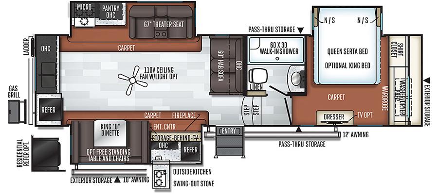 8290BS Floorplan