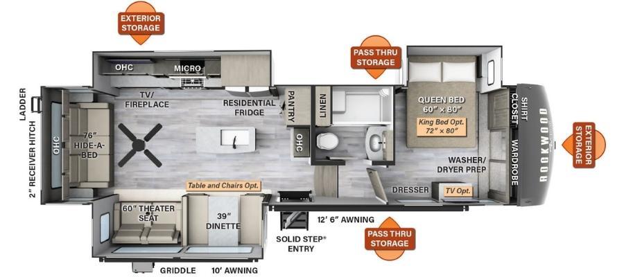 8294BS Floorplan