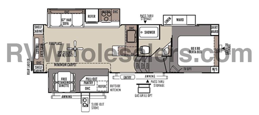 8294WS Floorplan